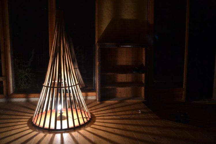 Luminaire tipi - Bambou Créations-min